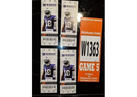 KState vs Oklahoma State Tickets