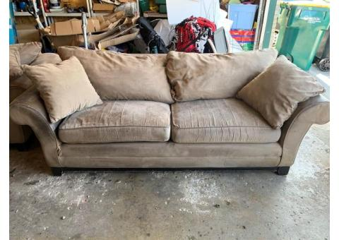 Couch, Love Seat and End Table