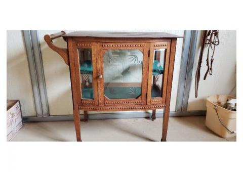 Antique 90 + yr old Tea Cart
