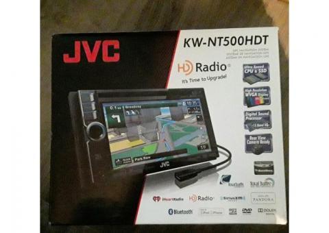 JVC  Navigation System HD Radio DVD