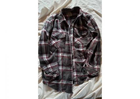 Flannel Shirts, used like new